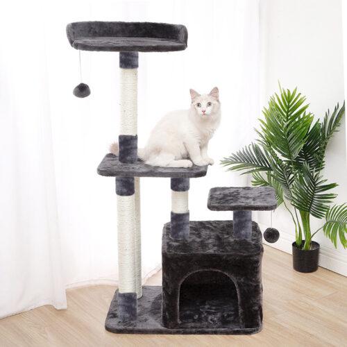 Дряпки і лазалки для котів